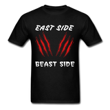 East Side Beast Side Tee - black