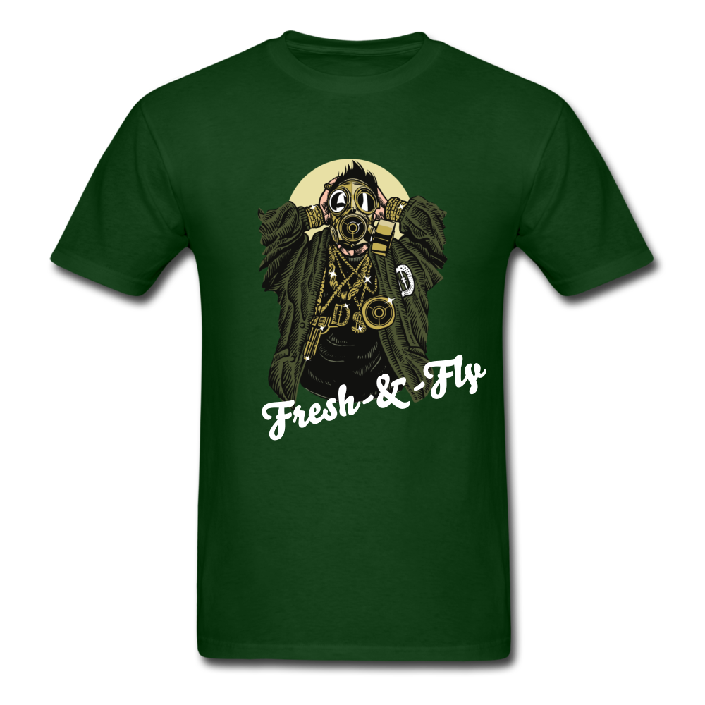 Fresh-&-Fly Tee - forest green