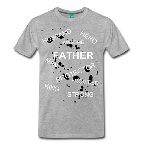 FATHER PLUS - heather gray