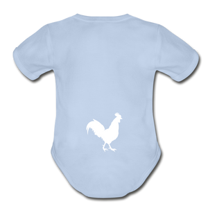 Chicken Butt Onsie - sky