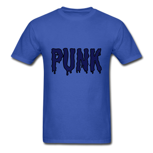 Punk Tee - royal blue