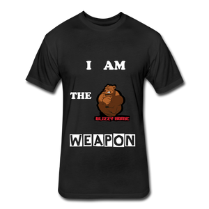 I am the weapon. - black