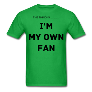My Own Fan - bright green