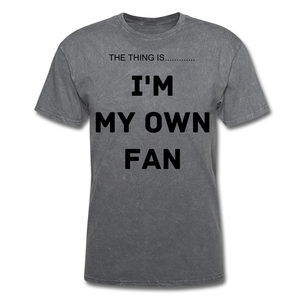 My Own Fan - mineral charcoal gray