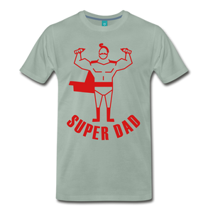 Super Dad - steel green