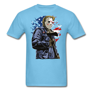 Trump Killer Tee - aquatic blue