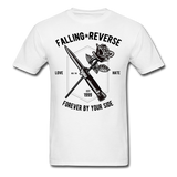 Fall in Reverse Tee - white