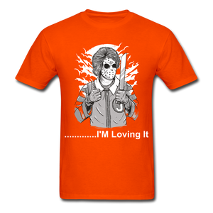 Loving it Tee - orange