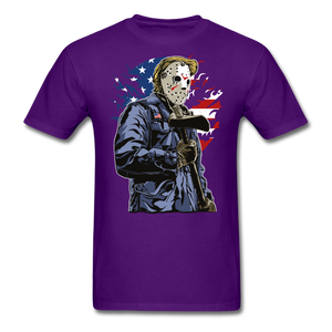 Trump Killer Tee - purple