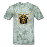 MMA Tee - military green tie dye