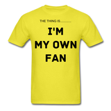 My Own Fan - yellow