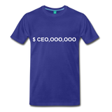 CEO,OOO,OOO - royal blue