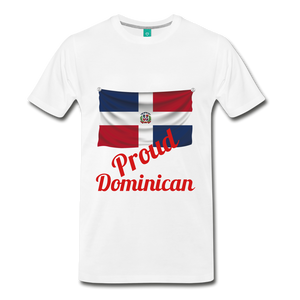 Proud Dominican - white