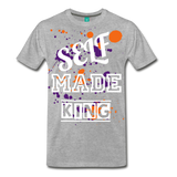 Self Made Tee. - heather gray