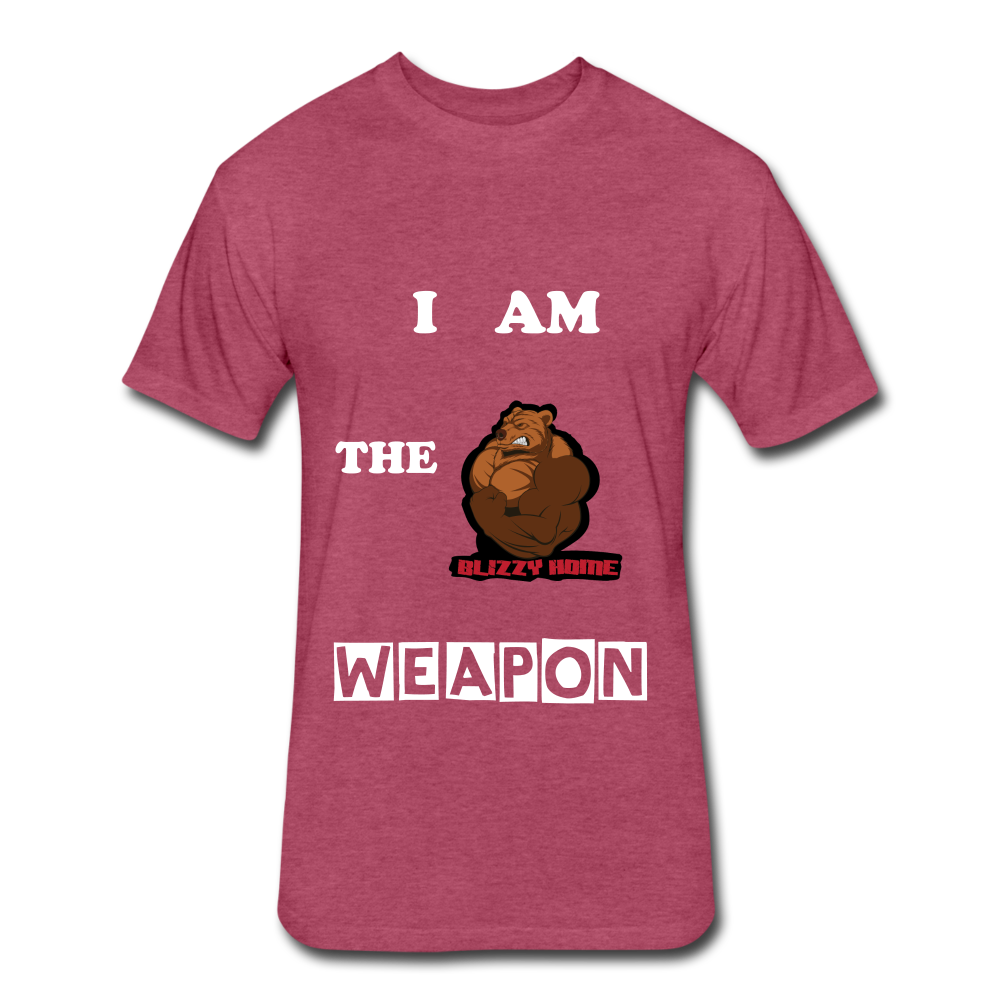 I am the weapon. - heather burgundy