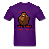 Bliz & Home Tee - purple