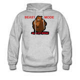 Beast Mode Hoodie - heather gray