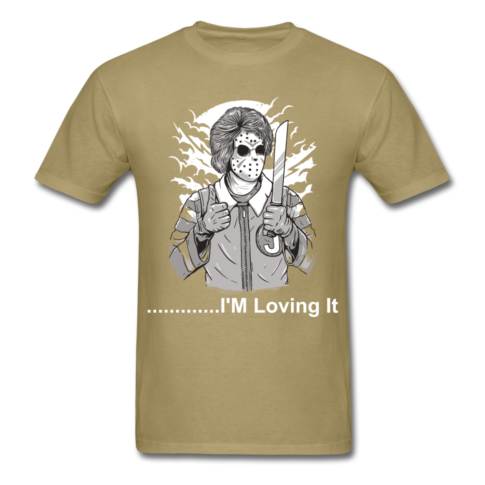 Loving it Tee - khaki