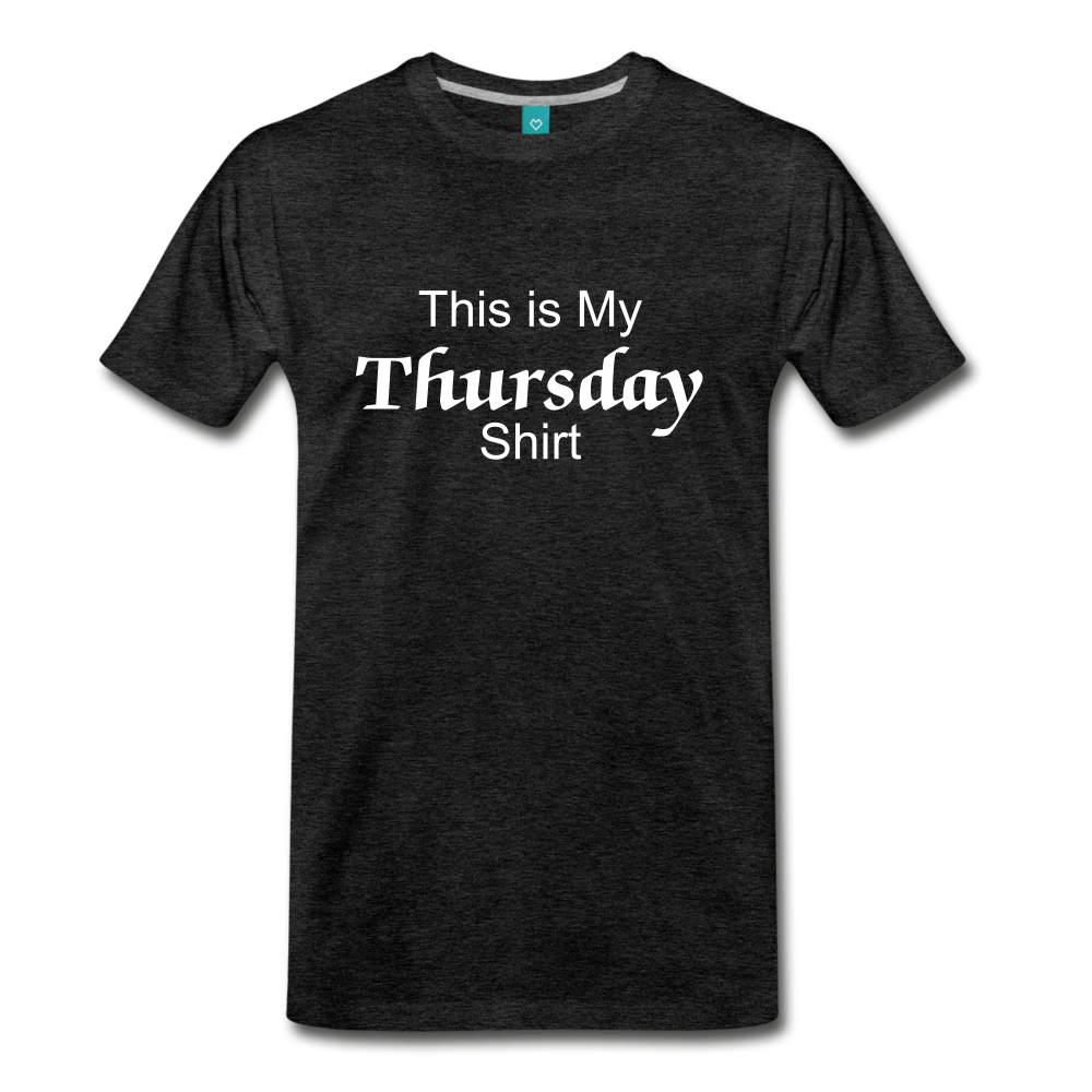 Thursday Shirt - charcoal gray