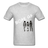 Dope Tee. - heather gray