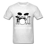 Drummer Tee - light heather grey