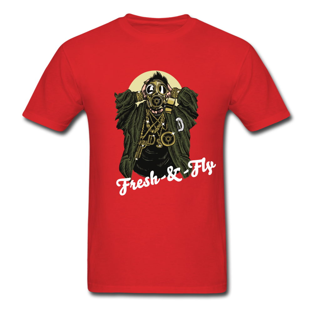 Fresh-&-Fly Tee - red