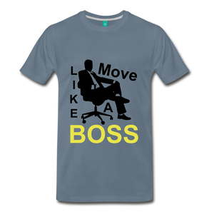 Move Like A Boss - steel blue