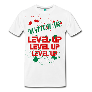 LEVEL UP - white