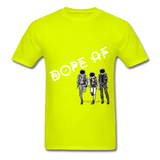 Dope Tee. - safety green