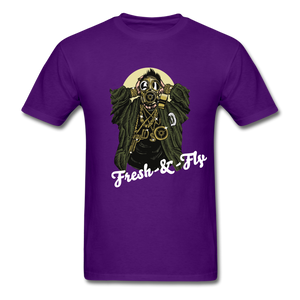 Fresh-&-Fly Tee - purple