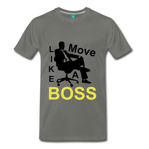 Move Like A Boss - asphalt gray