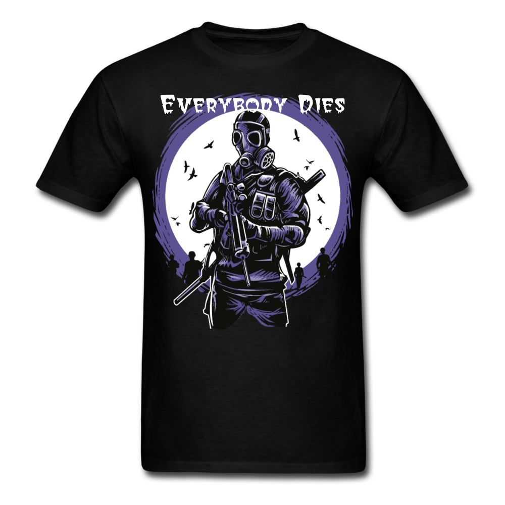 Everybody Dies Tee - black