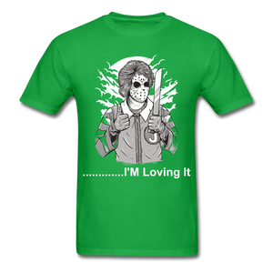 Loving it Tee - bright green