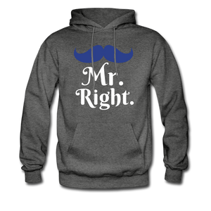 Mr. Right - charcoal gray