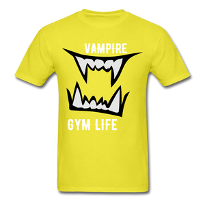 Vamp Gym Tee - yellow