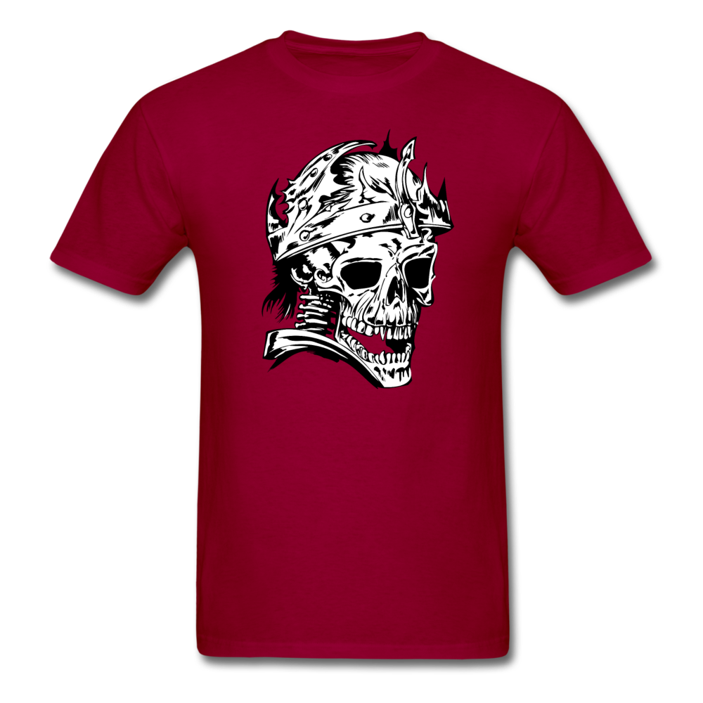King Skull Tee - dark red