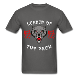 Wolpack Tee - charcoal