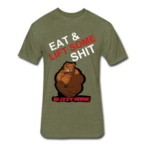 Eat & Lift. - heather military green