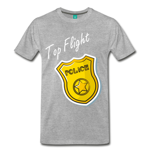 Top Flight - heather gray