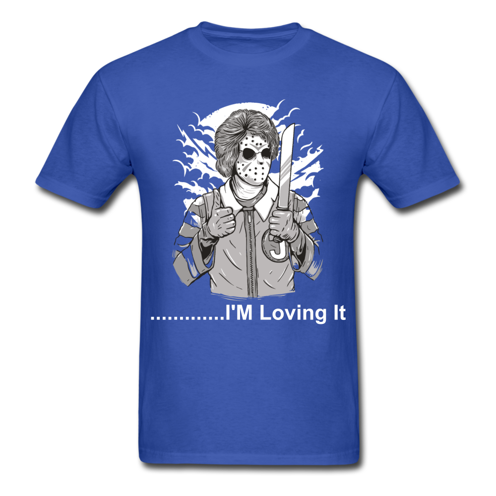 Loving it Tee - royal blue