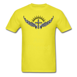 I Am Blessed Tee - yellow