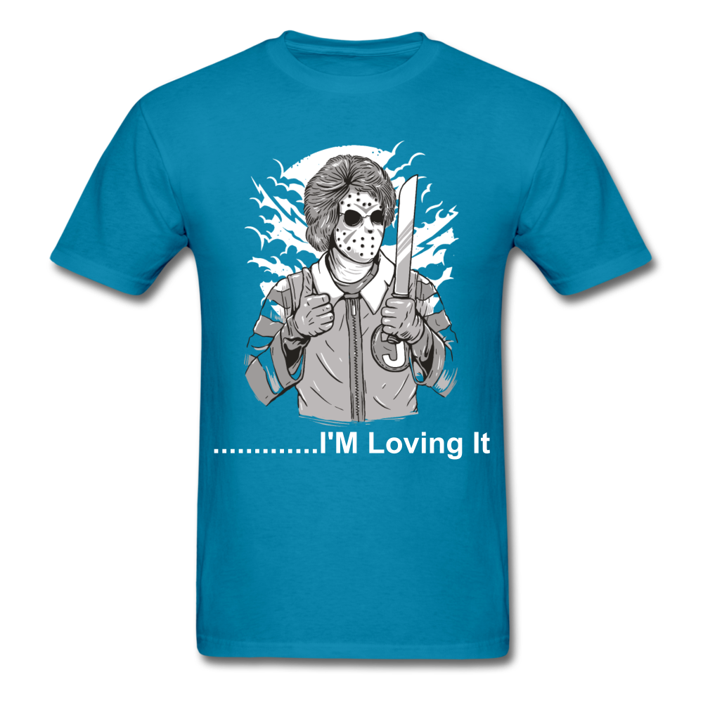 Loving it Tee - turquoise