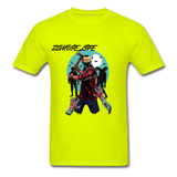 Zombie Tee - safety green