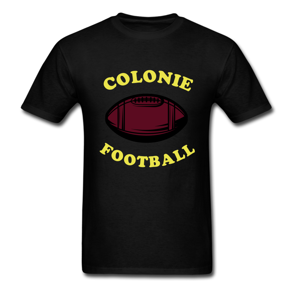 Colonie Football Tee - black