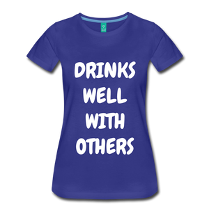 DRINKS WELL - royal blue