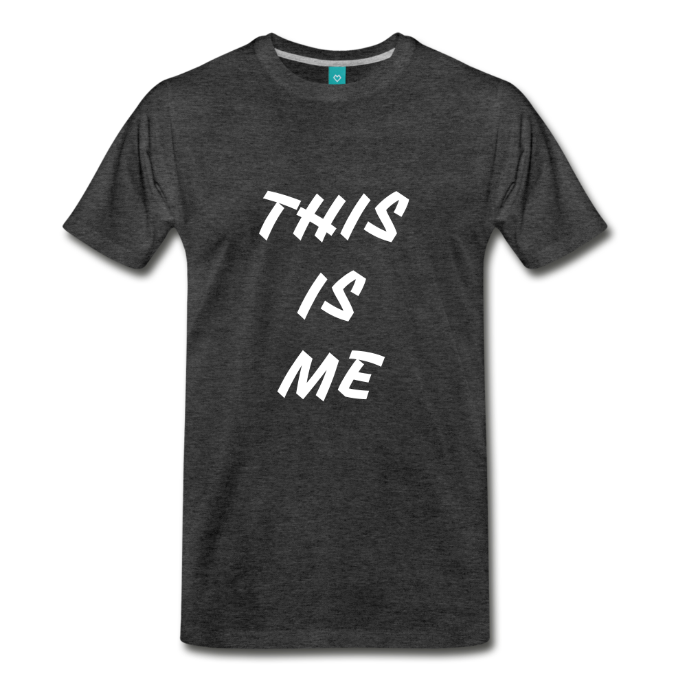 This is me Tee - charcoal gray