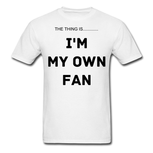 My Own Fan - white