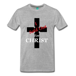 Sold Out For CHRIST - heather gray