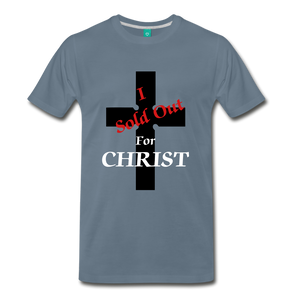 Sold Out For CHRIST - steel blue