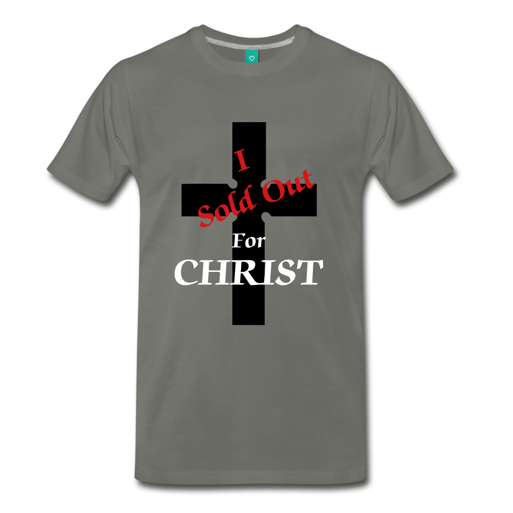 Sold Out For CHRIST - asphalt gray
